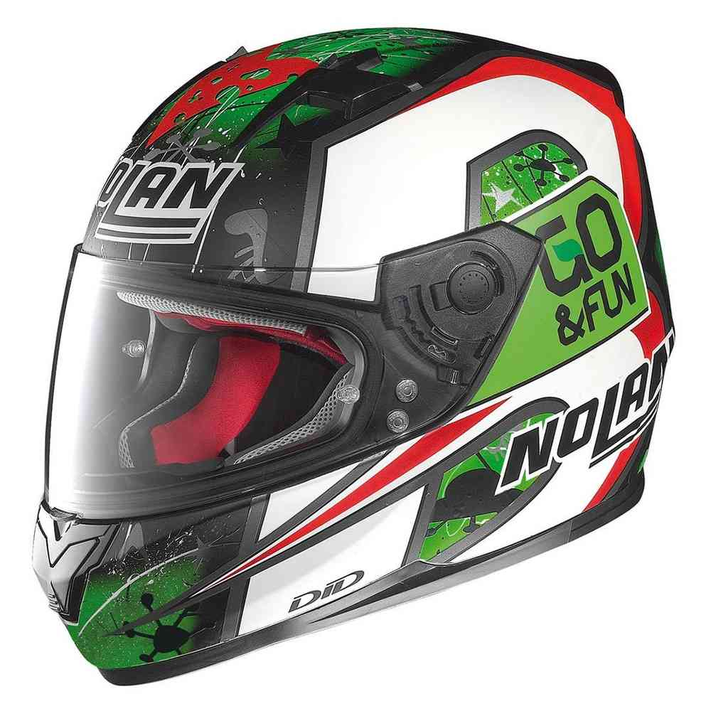 Casco Integral Nolan N-64 Checa