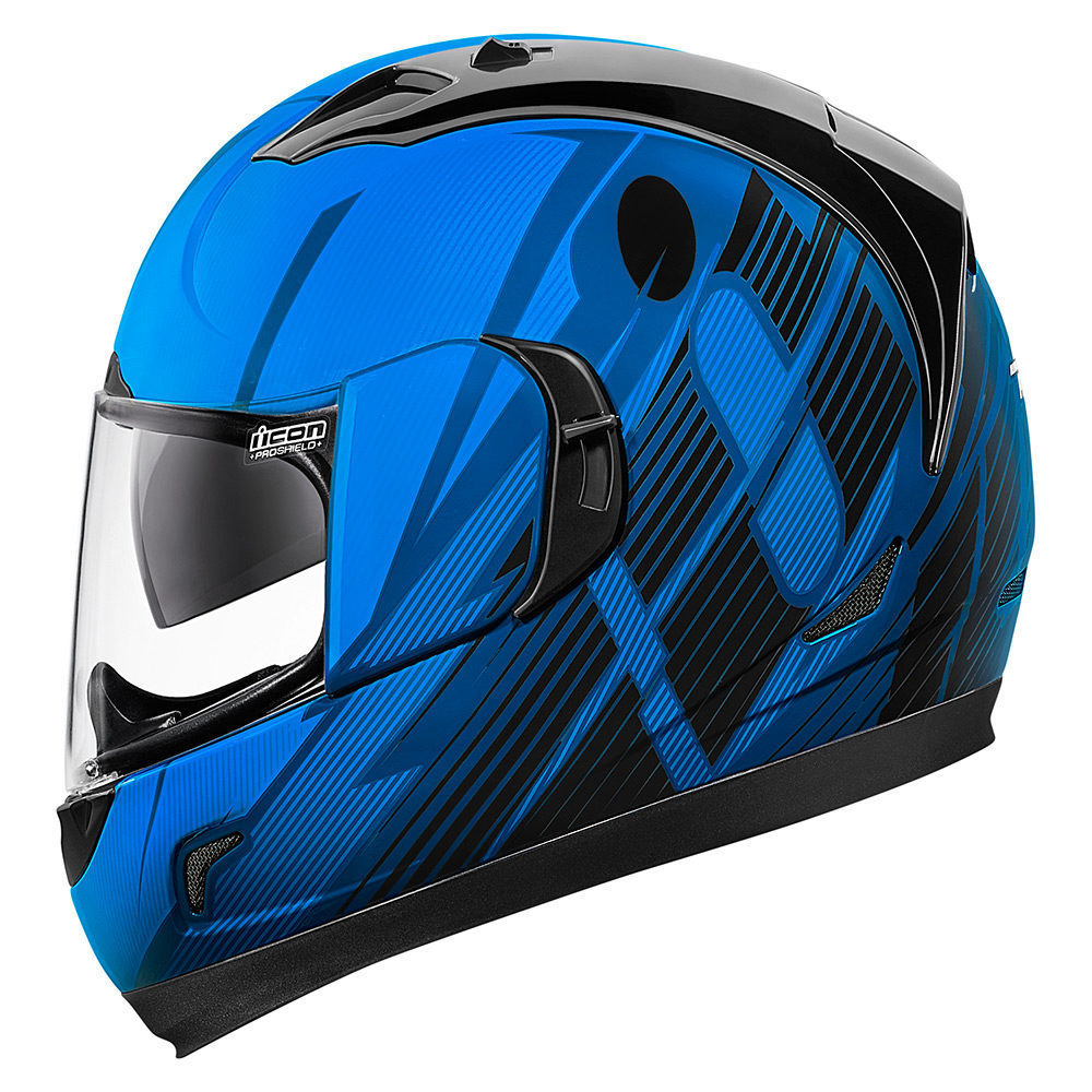 Casco Integral ICON GT Primary Blue