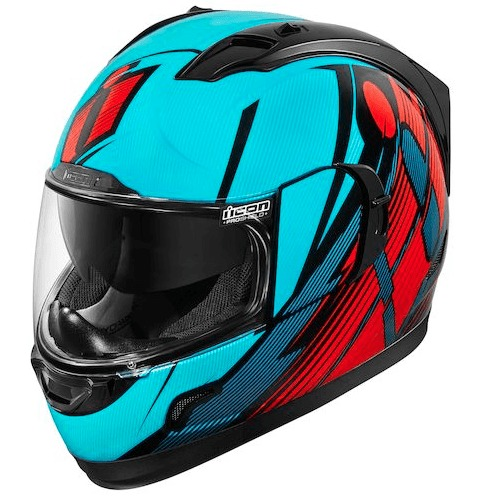 Casco Integral ICON GT Primary Blue Red