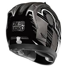Casco  Moto Integral ICON ALLIANCE Overlord Black - Adrian Store