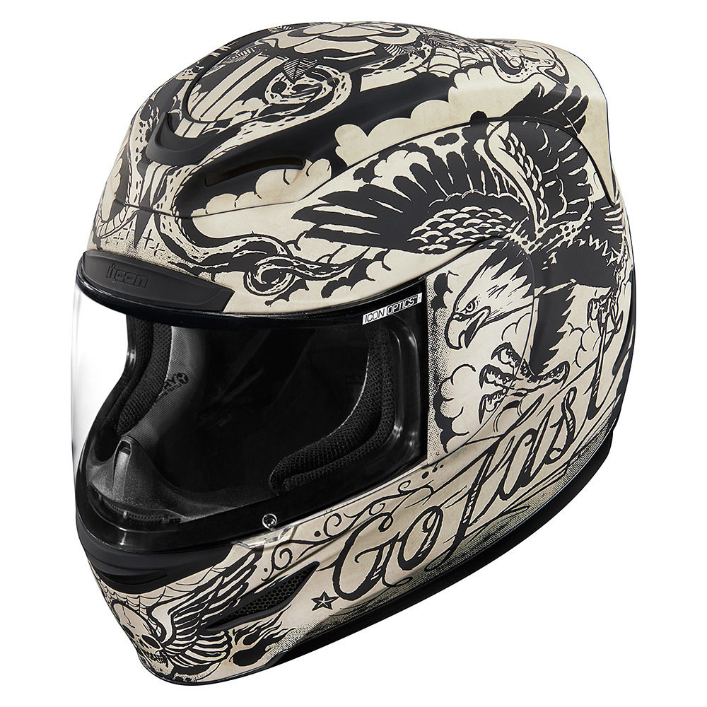 Casco Integral ICON AIRMADA Scrawl