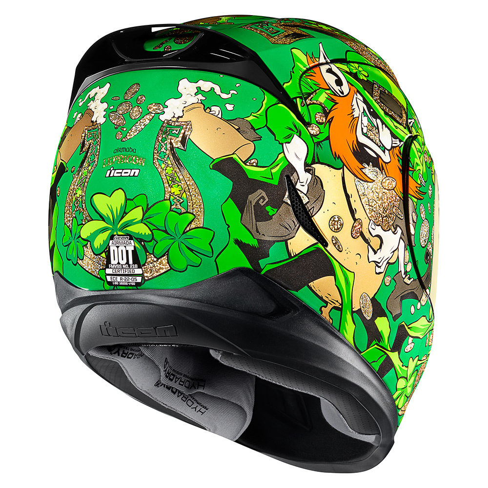 Casco Integral ICON AIRMADA Lepricon