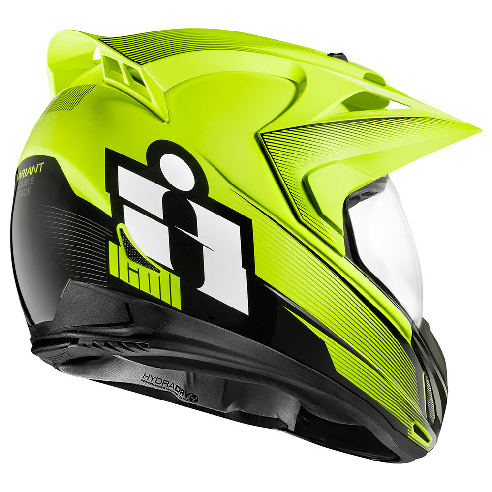 Casco Multiproposito ICON VARIANT Double Stack HiViz