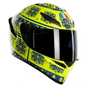 casco integral agv k1 winter test 2015