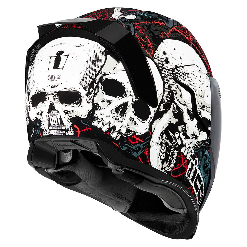 Casco Icon Airflite Skull18 - Adrian Store