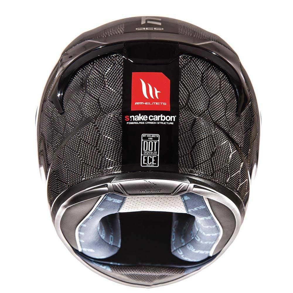 CASCO MT Kre Snake 100% Fibra de Carbono - Adrian Store