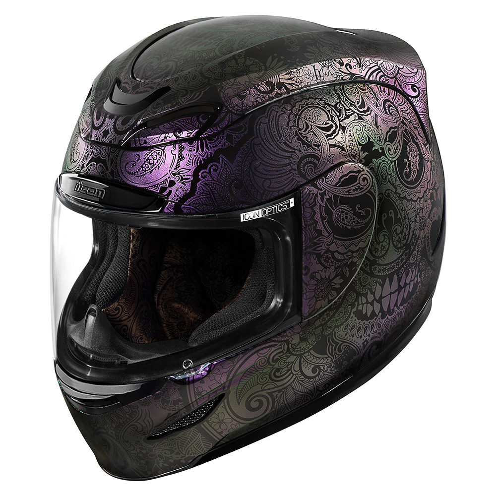 Casco Moto Icon Chantilly Opal - Adrian Store