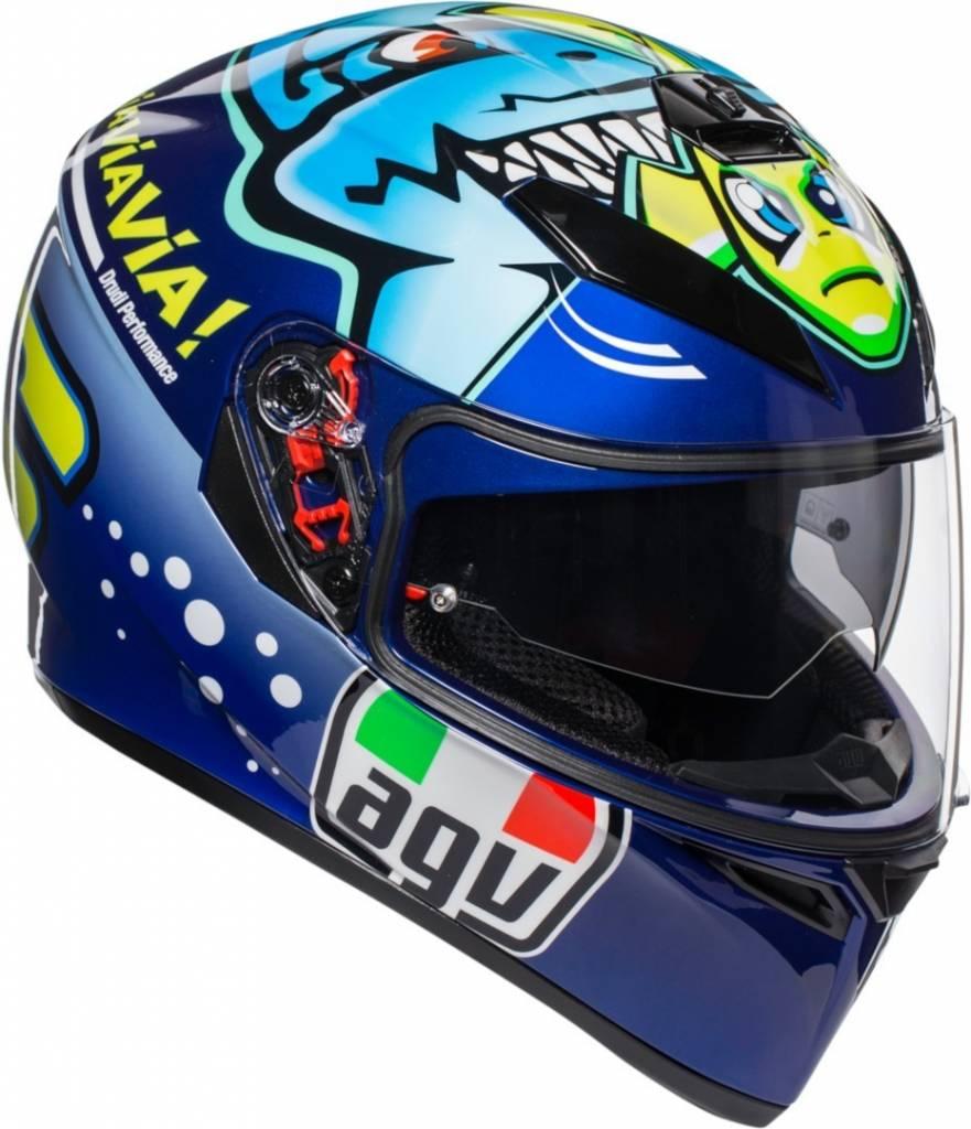 Casco Integral AGV K3 SV Rossi Misano 2015 - Adrian Store