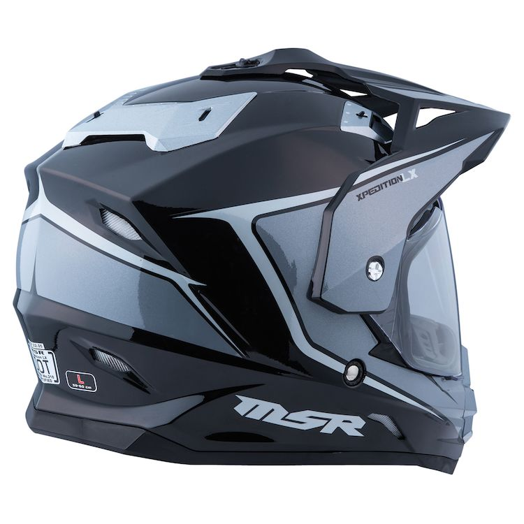Casco Multiproposito MSR Xpedition LX Negro Gris - Adrian Store