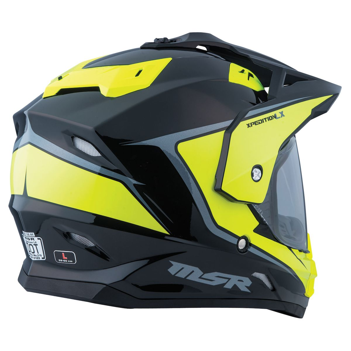 Casco Multiproposito MSR Expedition LX Negro - Hiviz - Adrian Store