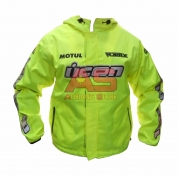 chaqueta proteccion nacional lona antifriccion