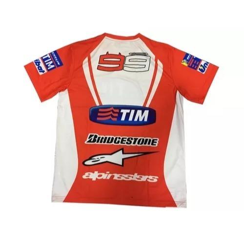 Camiseta Importada Tipo Jersey Ducati - Adrian Store