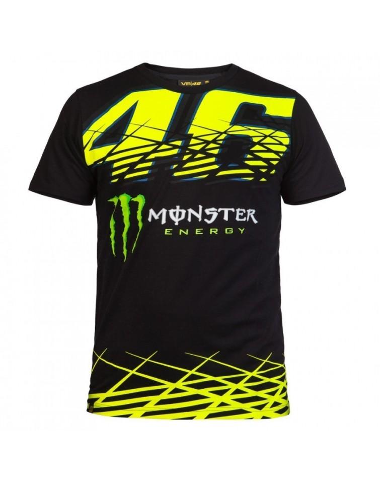 Camiseta VR46 Negra - Adrian Store