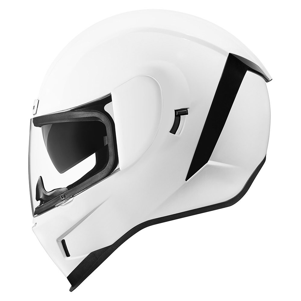 Casco Icon Airform Blanco Brillante