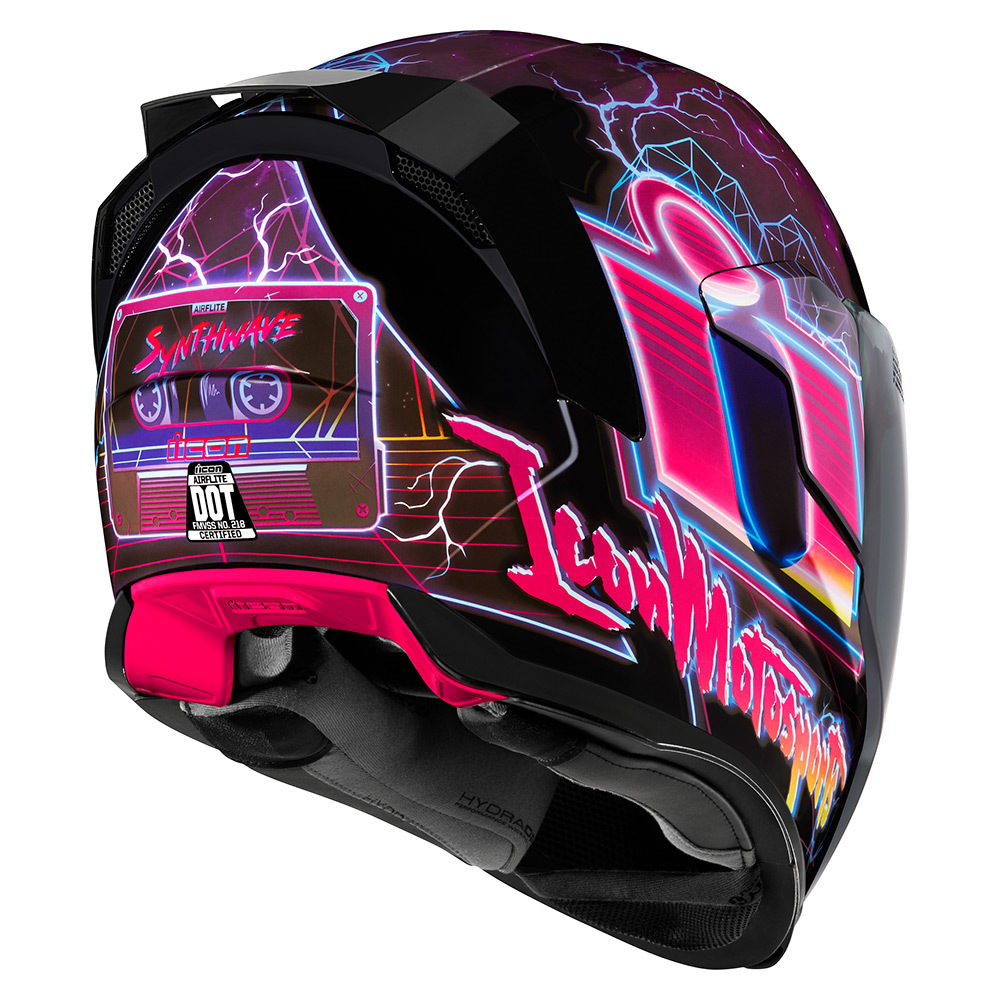 Casco Icon Airflite Synthwave