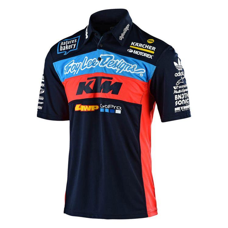 Camisa Polo Troy Lee KTM Team - Adrian Store