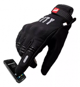 guantes semi impermeables city tactil