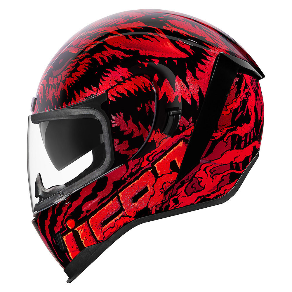Casco Moto Icon Airform Lycan - Adrian Store