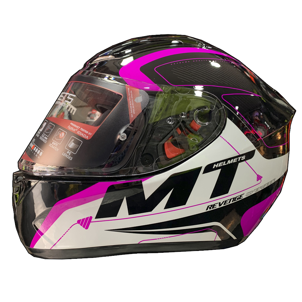 Casco Integral MT Revenge Overseer Brillo