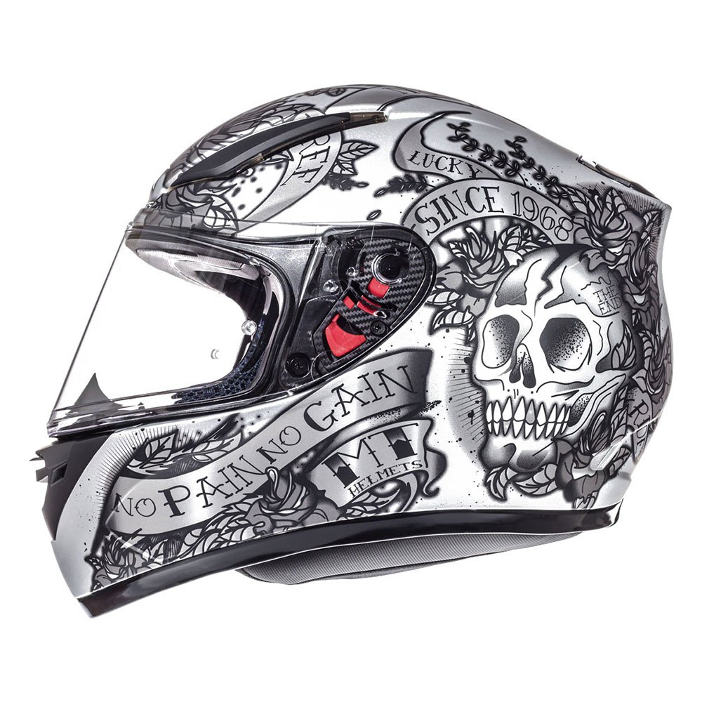 Casco Integral MT Revenge Skull and Roses