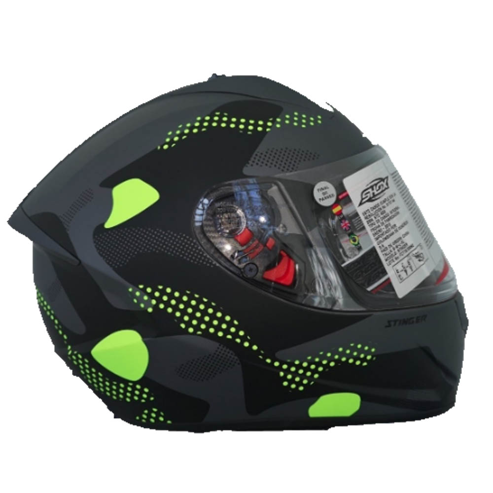 Casco Integral SHOX STINGER HOREX Mate