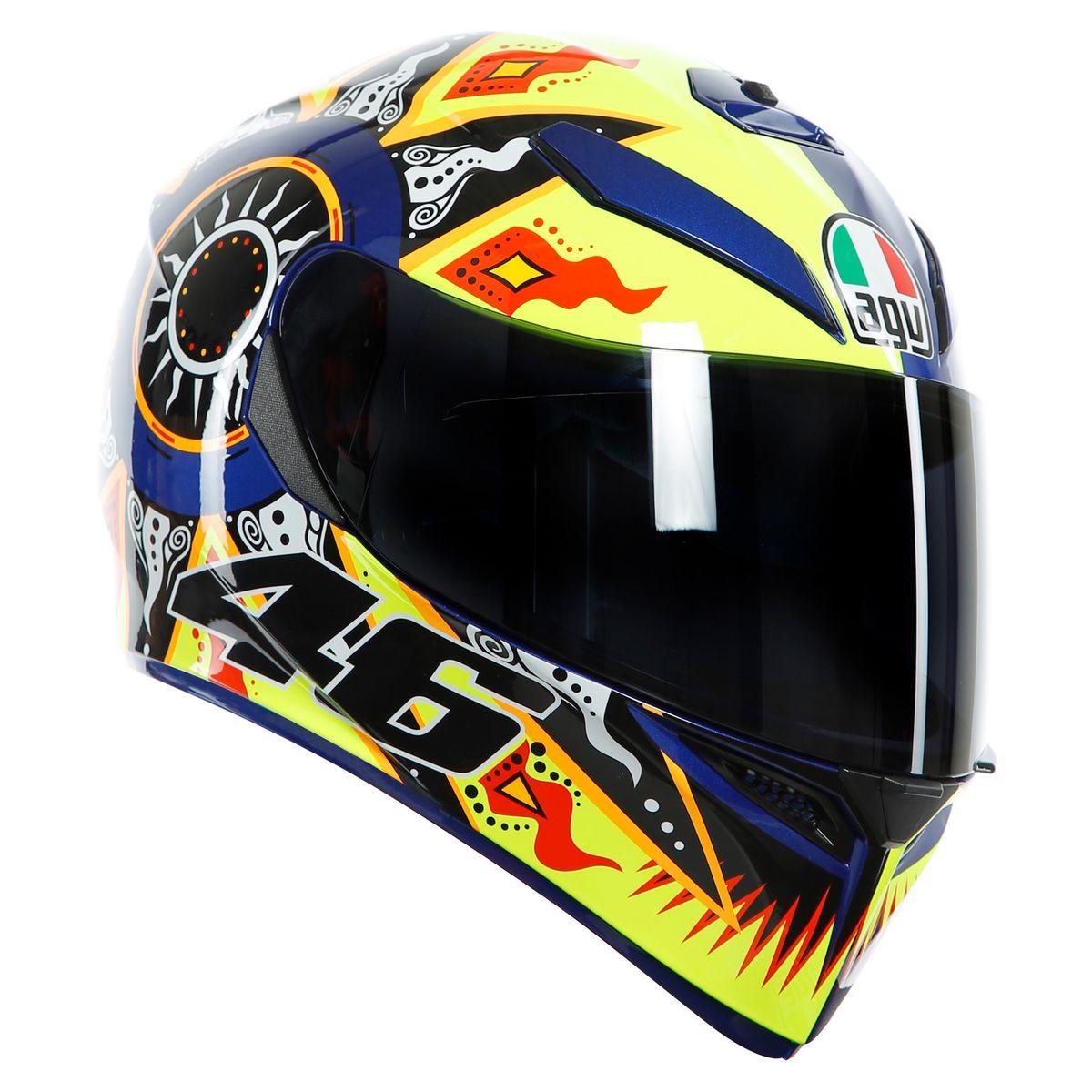 Casco Moto integral AGV K3 SV Rossi 2002 - Adrian Store