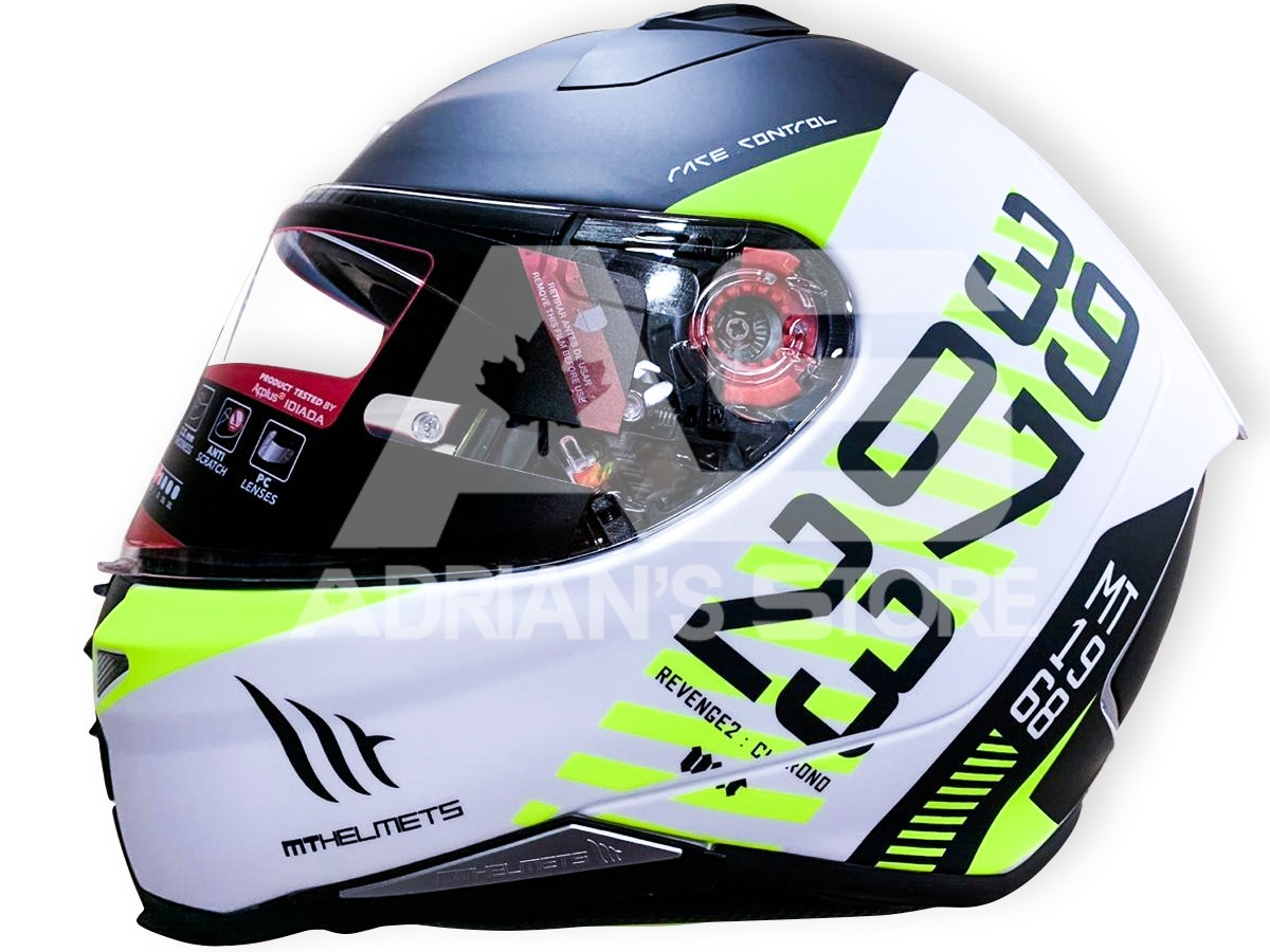 CASCO INTEGRAL MT REVENGE 2 CHRONO HI VIZ
