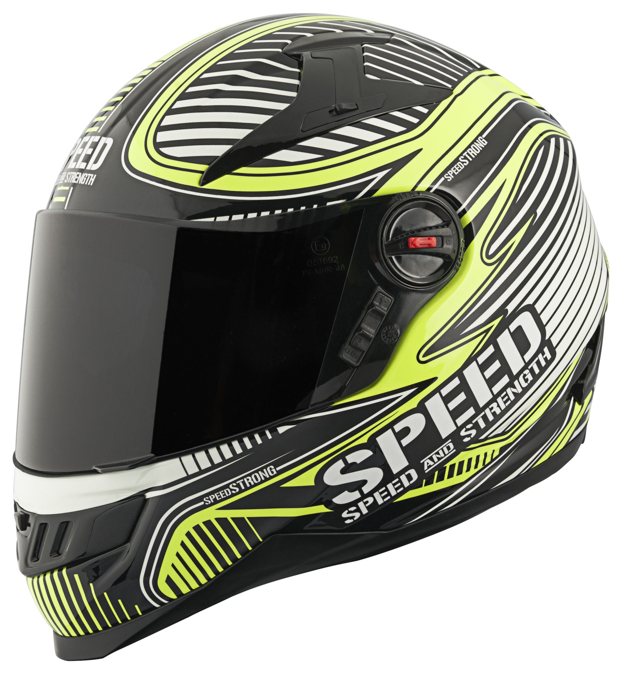 Casco Integral Speed Strong