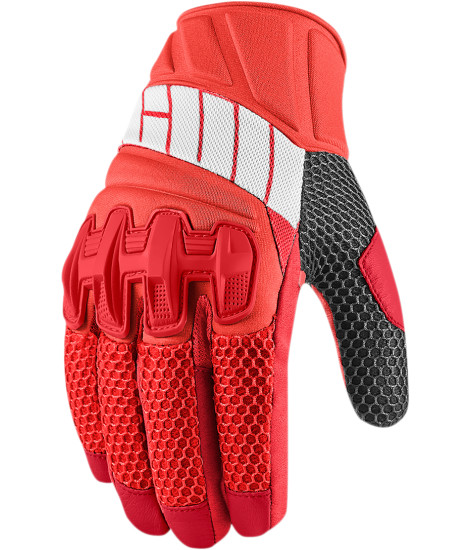 Guantes Icon Overlord Glove Red