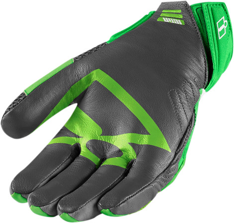 Guantes Icon Overlord Glove Green