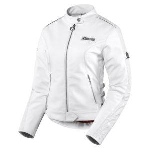 Chaqueta Hella Leather White