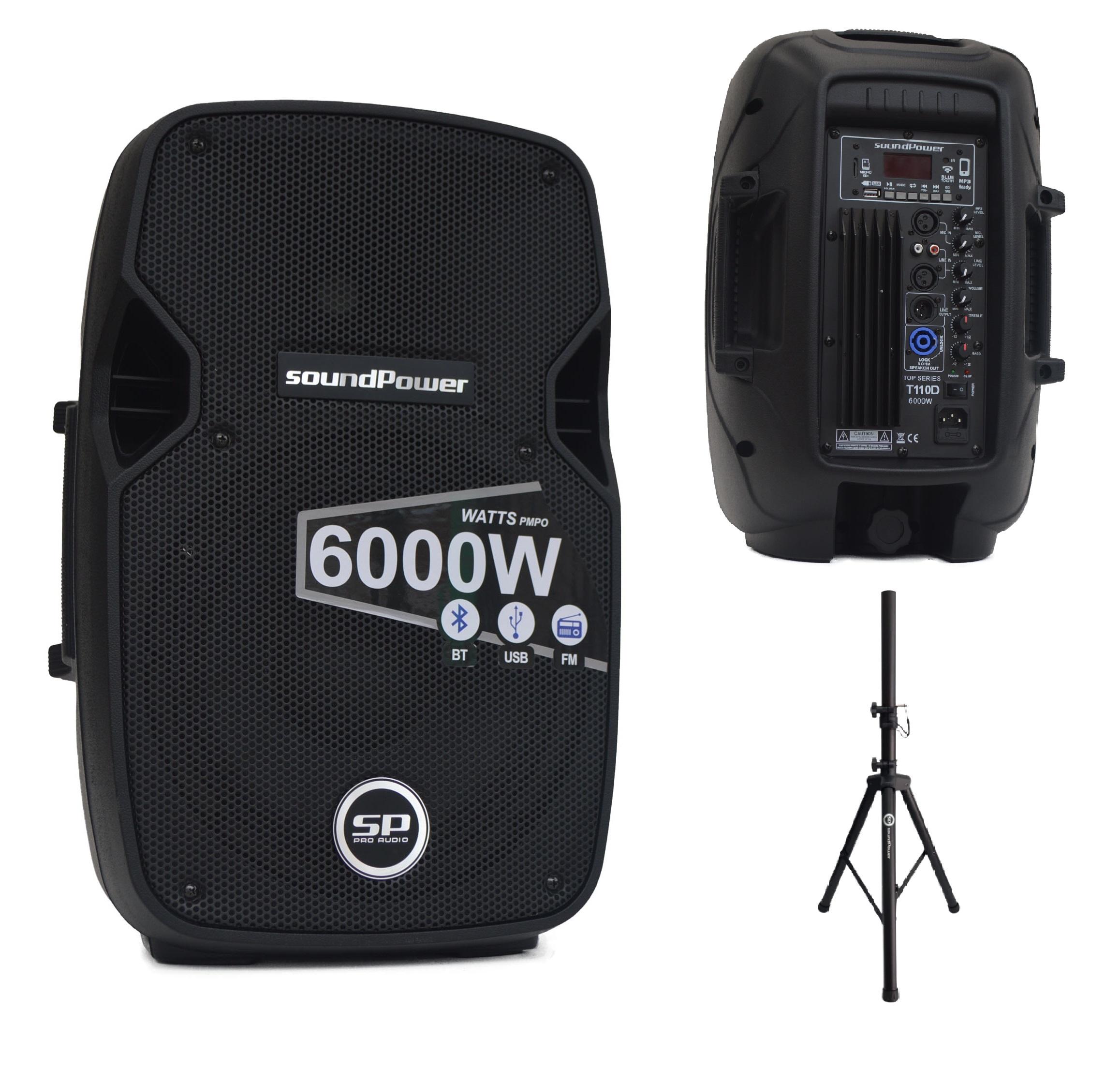 soundPower T110D + Base