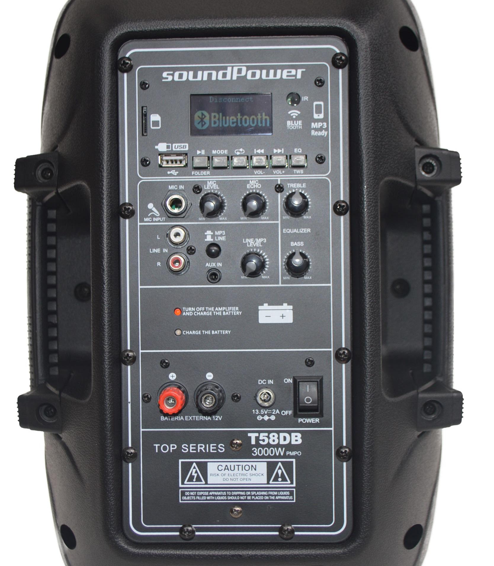 soundPower T58DB + Base