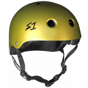 casco s-one mini lifer metallic gold
