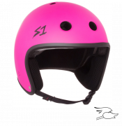 casco s-one retro lifer neon pink
