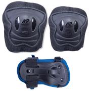 proteccion k2 raider pro pad set blue