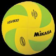 balon mikasa volleyball squish yellow-green vsv800-yg