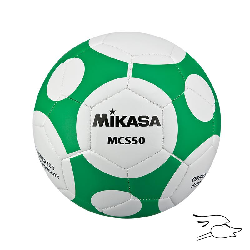 BALON MIKASA FUTBOL MCS #5 WHITE-GREEN MCS50-WG