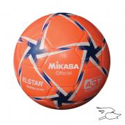 balon mikasa futbol elstar #5 orange-white-blue se509-dowb