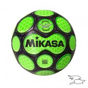 balon mikasa futbol sar #5 black-green sar50-bkg