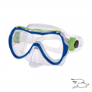 careta leader utila jr. navy-blue-lime-green