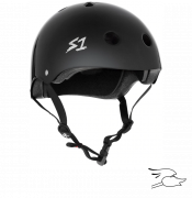 casco s-one mega lifer black gloss
