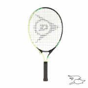 "raqueta dunlop tennis force jr. 23"" black-yellow"