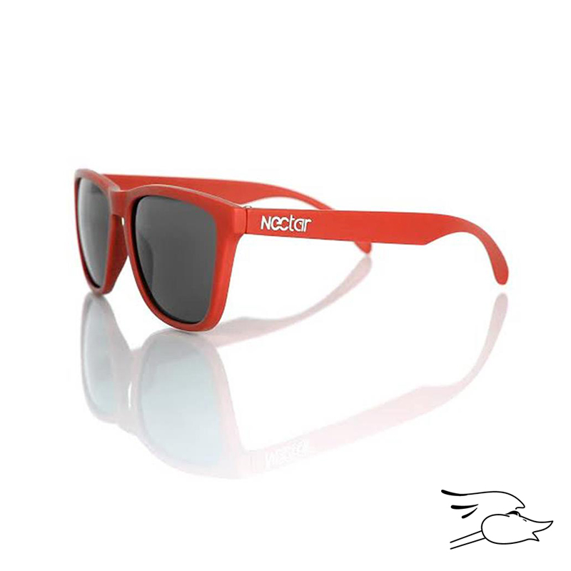 GAFAS NECTAR STEEZ RED FRAME BLACK LENS