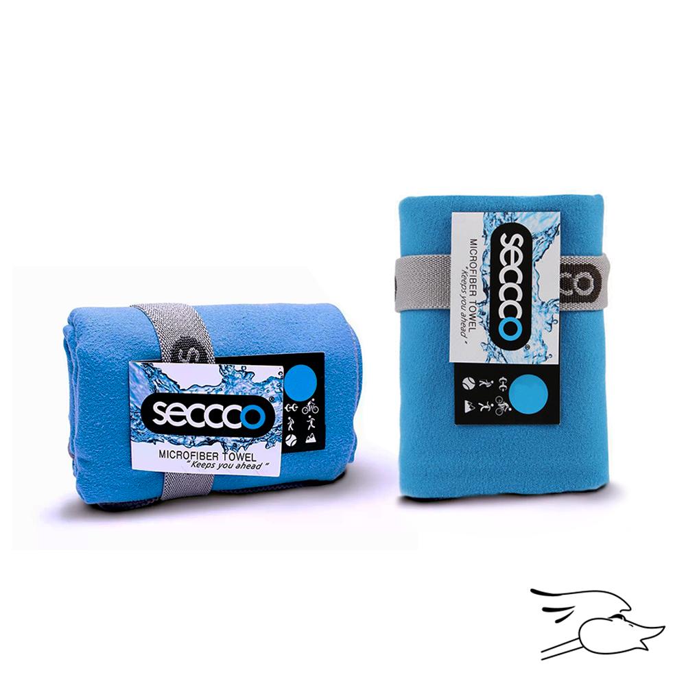 TOALLA SECCCO MICROFIBRA S 40X80 AZUL CLARO