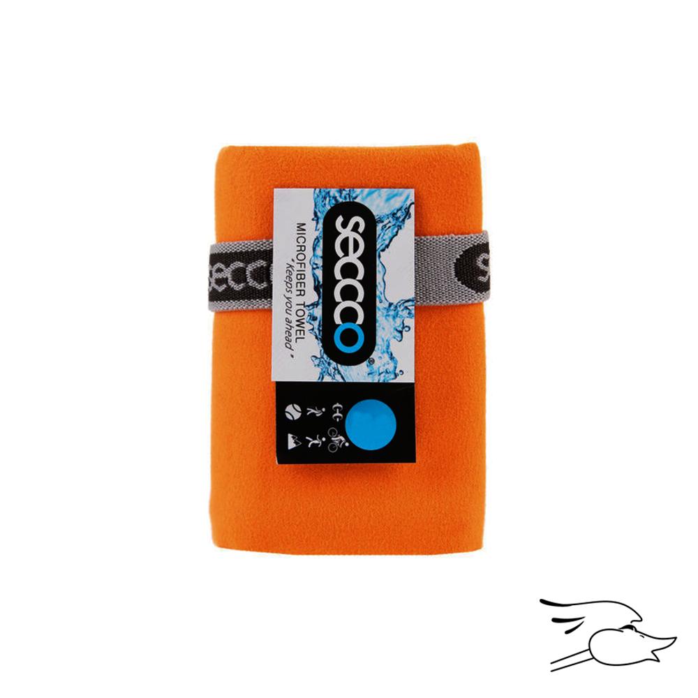 TOALLA SECCCO MICROFIBRA S 40X80 ANARANJADO