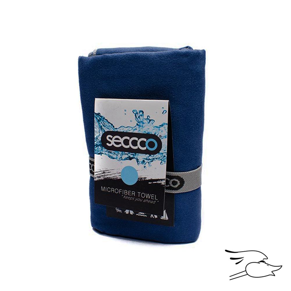 TOALLA SECCCO MICROFIBRA M 80X130 AZUL OSCURO