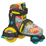 patines roller derby funroll boys black-yellow