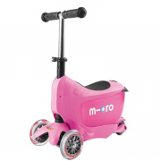 scooter micro min 2 go deluxe pink