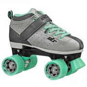 patines roller derby str seven grey-green